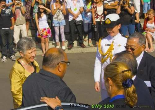 Arrival of Governor General - photo by John Ling