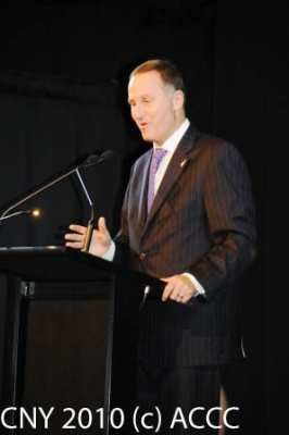 The Prime Minister, Hon John Key - photo by John Ling