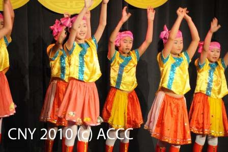 Group Children Folk Dance (Blue Sky Dance Group) - photo by John Ling